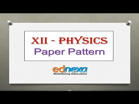 Maharashtra HSC Board 2014 Physics Paper Pattern