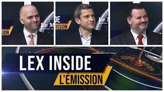 LEX INSIDE - Emission du 12 avril 2021