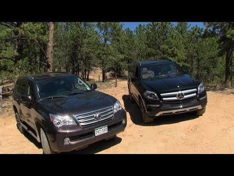 2013 Mercedes-Benz GL350 vs Lexus GX460 Off-Road Mountain Mashup Review