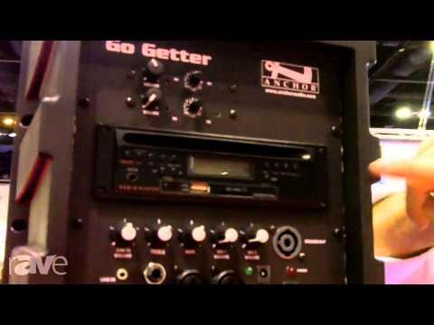 InfoComm 2013: Anchor Audio Explains its Go Getter Portable Sound System