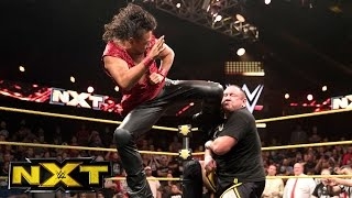 Shinsuke Nakamura returns to confront Samoa Joe: WWE NXT, Oct. 12, 2016
