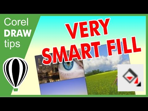 Using Smart fill in CorelDraw