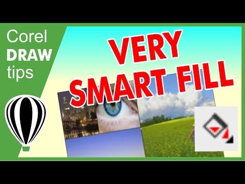 Using Smart fill in CorelDraw