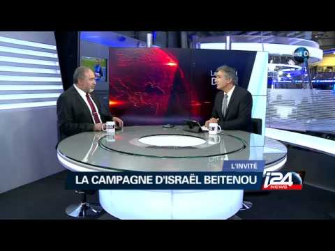 Interview d'Avigdor Lieberman dans le Grand Direct
