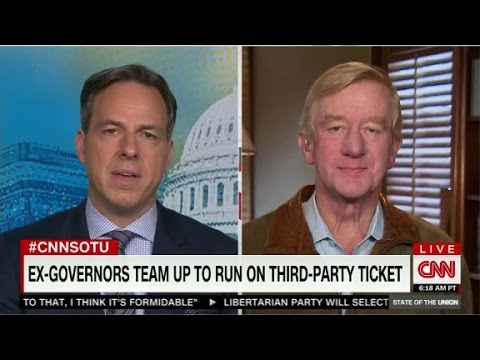 Gov. Bill Weld on State of the Union - Full Interview