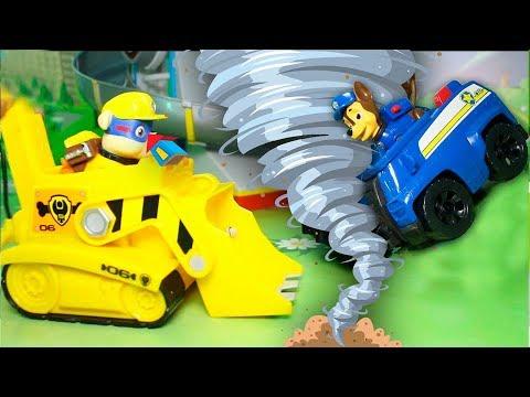 Мультики для детей с игрушками Щенячий Патруль и Супер двигатель!