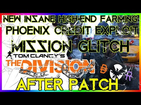 NEW FAST High-End Farming | The Division | Phoenix Credit Exploit | Mission Glitch | After PATCH