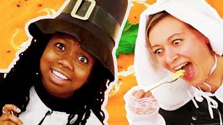Americans Eat Real Pilgrim Food