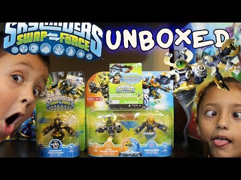 Unboxing Nitro Magna Charge & Legendary Free Ranger + Exclusive UFO Hat 4 Swap Force pt. 10