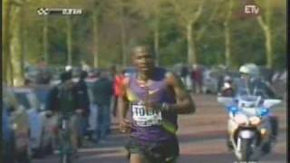Tadese Tola Wins the 2010 Paris Marathon - Ethiopian News