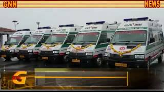 GOA NEWS : HEALTH DEPT  LAUNCHED MORE 6 CARDIAC AMBULANCES WITH LIFE SAVING FACILITY