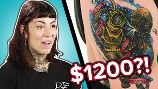 Tattoo Artists Guess The Prices of Tattoos