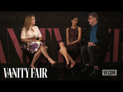 "Gugu Mbatha-Raw & Tom Wilkinson on ""Belle"" at TIFF 2013 - Vanity Fair"