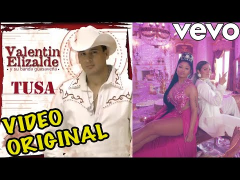 Tusa Ft. Valentín Elizalde | ORIGINAL VIDEO
