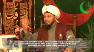 "Q&A: ""Are Naqshbandi murids allowed to use some of the Qadri practices?"""