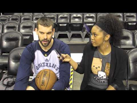 Exclusive Interview with Memphis Grizzlies Marc Gasol