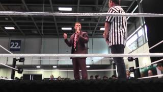 The Miz Live Interview @ You Messe 2013 Berlin (mit Carsten Schaefer) Be a Star Kampagne WWE Berlin