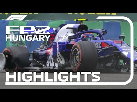2019 Hungarian Grand Prix: FP2 Highlights