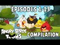 Download Angry Birds Toons Compilation | Season 1 Mashup | Ep1-13 in Mp3, Mp4 and 3GP