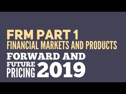 FRM Level 1 - Determination of Forward and Futures Prices | Financial Markets and Products | iPlan E