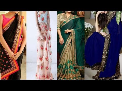 Sarees With Beautiful Designs || Designer Sarees || Latest Sarees With Designs || The Fashion Zone