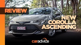 2019 Toyota Corolla Ascent Sport review