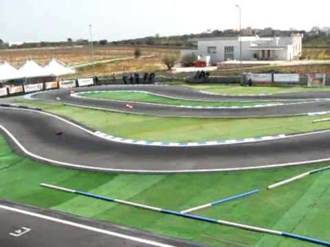 RC european championship warm up efra 1/8 track Semifinale A1