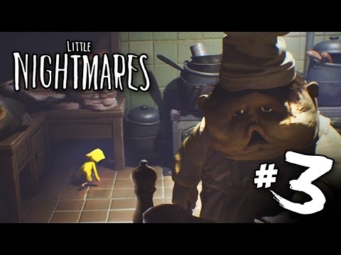 They Eat Us! - Little Nightmares | Part 3 (Gameplay)