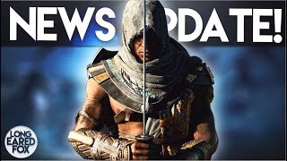 Assassin's Creed Origins | NEWS UPDATE! - Play as OTHER Assassins, Abstergo Animus & Faction Battles
