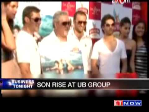 Siddharth Mallya to play bigger role in UB Group