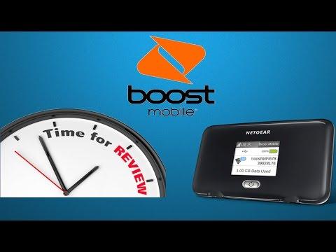 Boost Mobile Netgear Fuse LTE Wi-Fi hotspot review/info (HD)