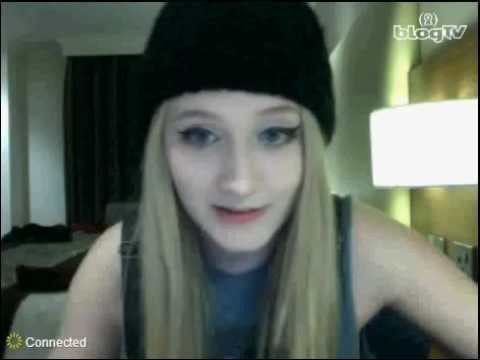 Janet Devlin - BlogTV 5th October 2012