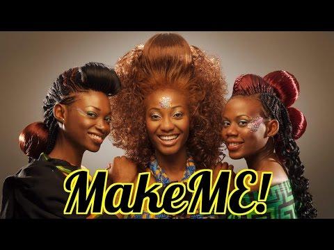 MAKEME: tour of Nigeria's SEXIEST Hair Salon (Part 1)