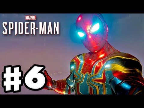 Spider-Man - PS4 Gameplay Walkthrough Part 6 - Iron Spider Suit