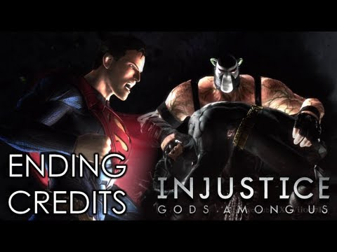 INJUSTICE: GODS AMONG US - INJUSTICE GODS AMONG US ENDING CREDITS (Xbox 360/PS3/Wii U HD)