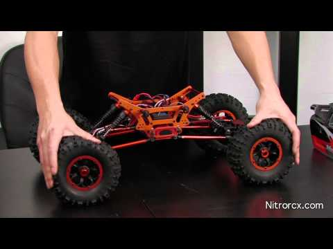 New Exceed 1/8th Mad Torque Rock Crawler Overview