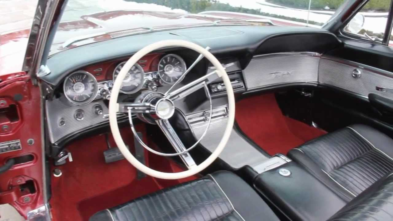 1962 Ford Thunderbird Convertible Classic Muscle Car For