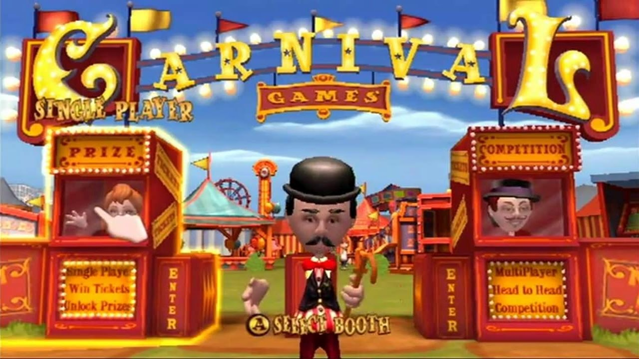 New Carnival Games  Nintendo Wii  amazoncom