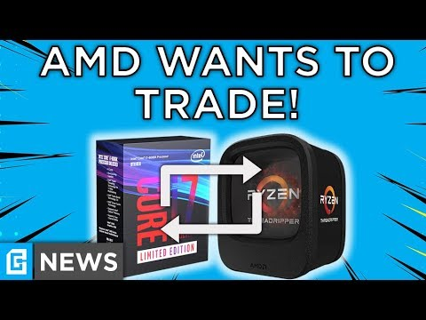 AMD Is Trading Threadripper 1950X For i7 8086K, NEW Ryzen 2800H