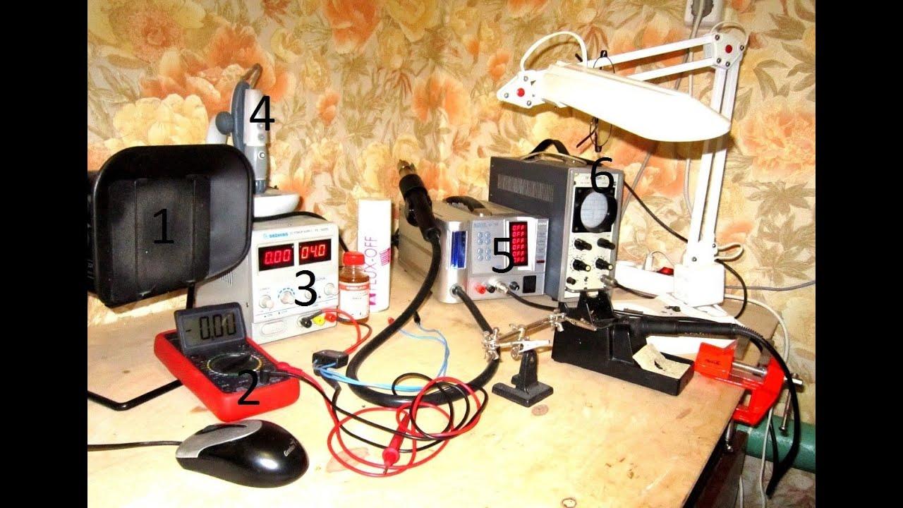 Рабочий стол для пайки своими руками 4