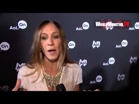 Sarah Jessica Parker interviewed at AOL 2013 Digital Content NewFront
