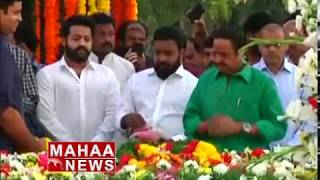 Jr NTR Pays Tribute to NTR at NTR Ghat | NTR Death Anniversary
