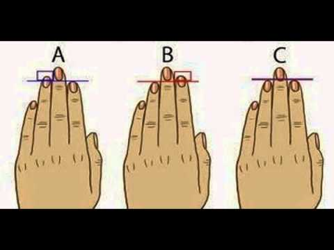 Find Out What Your Finger Length Reveals About Your Personality