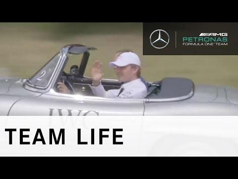 The Passione Caracciola with Nico Rosberg and IWC