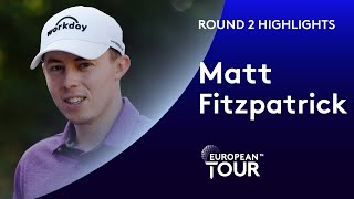 Matt Fitzpatrick leads at 11 under par | Round 2 | 2019 WGC-HSBC Champions