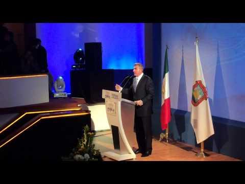 Tony Gali presenta Plan Municipal de Desarrollo 2014 2018 Puebla