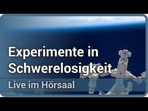 Materialphysikalische Experimente in Schwerelosigkeit • Live im Hörsaal | Andreas Meyer