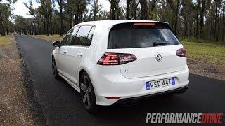 2014 Volkswagen Golf R Mk7 0-100km/h & engine sound