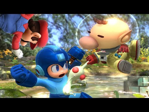 Super Smash Bros 4 Characters: Olimar Trailer (WII U / 3DS Gameplay Screenshots) 【All HD】