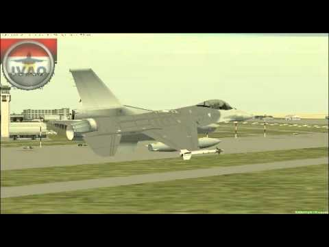 EG-IVAO Suez Canal Airshow--low pass over Cairo airport